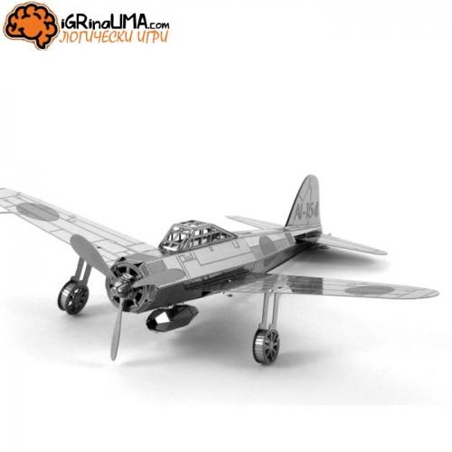 Метален пъзел 3d - самолет